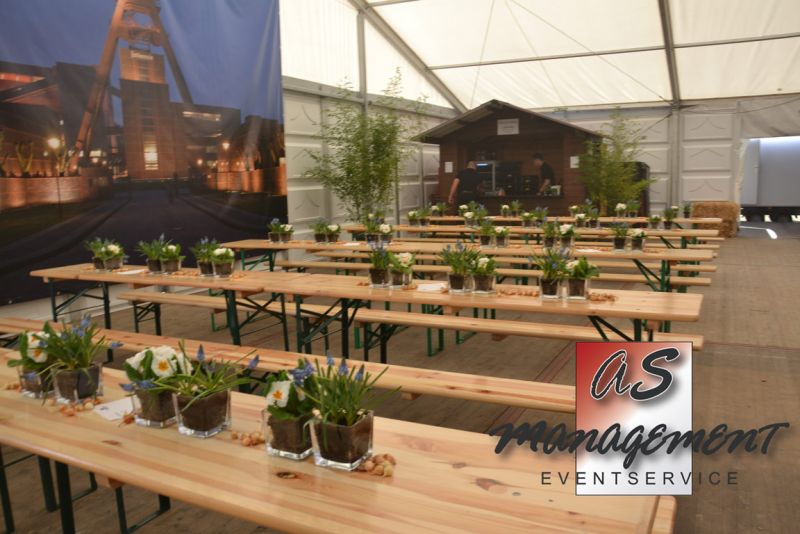 Bierzeltgarnituren mieten in essen as management eventcatering - Stehtische dekorieren ...