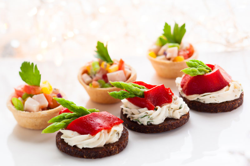 Canapes Partyservice Catering
